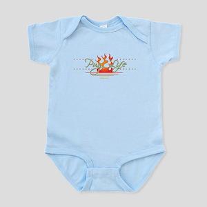 Pug Life Endless Summer Infant Bodysuit
