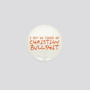 Christian Bullshit Mini Button