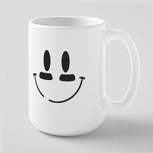 Football Smiley Large Mug