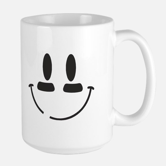 Football Smiley Large Mug