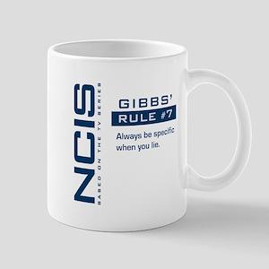NCIS Gibbs' Rule #7 Mug