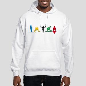 Men's Gymnastics Hooded Sweatshirt