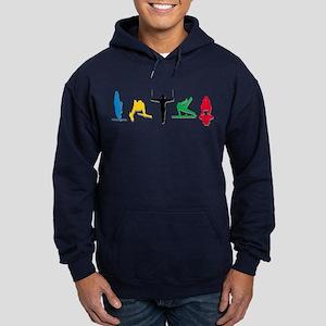 Men's Gymnastics Hoodie (dark)