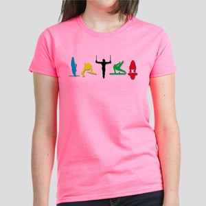 Men's Gymnastics Women's Dark T-Shirt