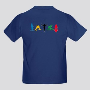 Men's Gymnastics Kids Dark T-Shirt
