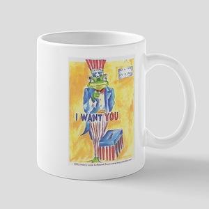 Vote To Leap! Mug