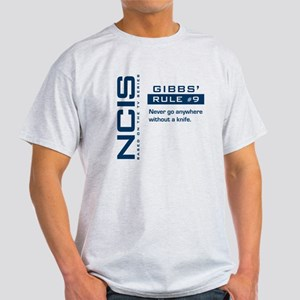 NCIS Gibbs' Rule #9 Light T-Shirt