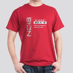 NCIS Gibbs' Rule #9 Dark T-Shirt