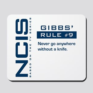 NCIS Gibbs' Rule #9 Mousepad