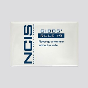 NCIS Gibbs' Rule #9 Rectangle Magnet