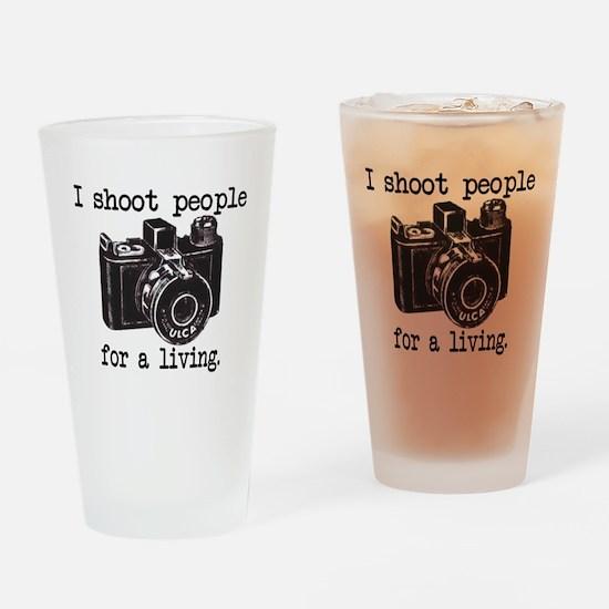 I Shoot People - Pint Glass