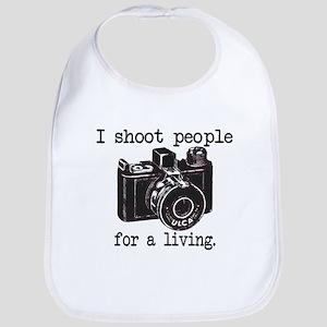 I Shoot People Bib
