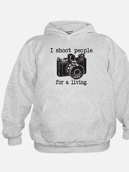 I Shoot People Hoodie