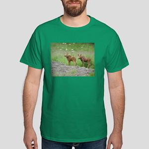 Twin Calves #01 Dark T-Shirt