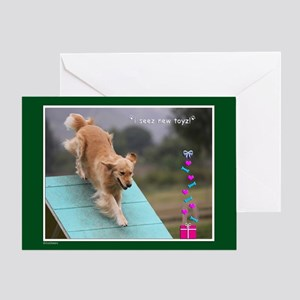 Golden Retriever Birthday Card 2012-10