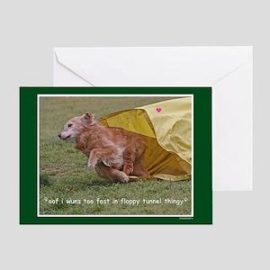 Golden Retriever Birthday Card 2012-9