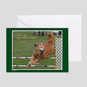 Golden Retriever Birthday Card 2012-3