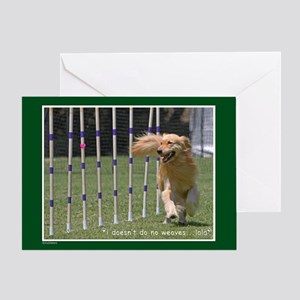 Golden Retriever Birthday Card 2012-2