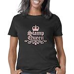 stamp_queen_trans Women's Classic T-Shirt
