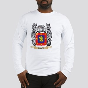Banas Family Crest - Banas Coa Long Sleeve T-Shirt