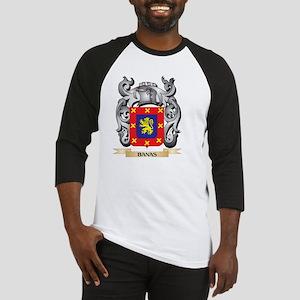 Banas Family Crest - Banas Coat of Baseball Jersey