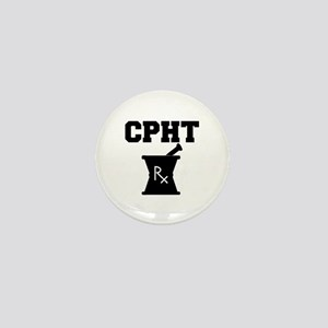 Pharmacy CPhT Rx Mini Button