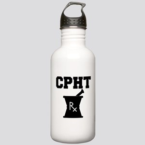 Pharmacy CPhT Rx Stainless Water Bottle 1.0L