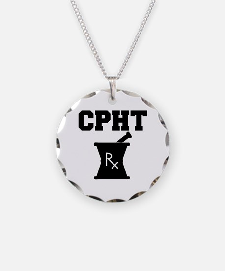 Pharmacy CPhT Rx Necklace