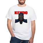 Kendo Men1 White T-Shirt