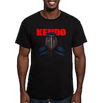 Kendo Men1 Men's Fitted T-Shirt (dark)
