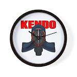 Kendo Men1 Wall Clock