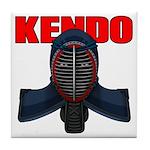 Kendo Men1 Tile Coaster