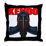 Kendo Men1 Throw Pillow