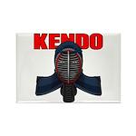 Kendo Men1 Rectangle Magnet (10 pack)