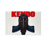 Kendo Men1 Rectangle Magnet (100 pack)
