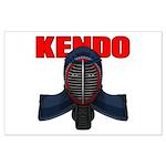Kendo Men1 Large Poster