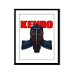 Kendo Men1 Framed Panel Print