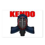 Kendo Men1 Postcards (Package of 8)