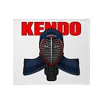 Kendo Men1 Throw Blanket