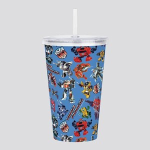 Transformers Vintage P Acrylic Double-wall Tumbler