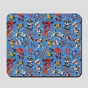 Transformers Vintage Pattern Mousepad