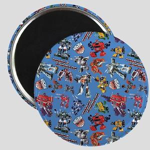 Transformers Vintage Pattern Magnet