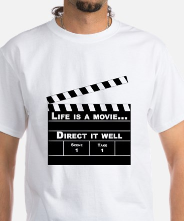 Life is a movie One side only HUGE T-Shirt