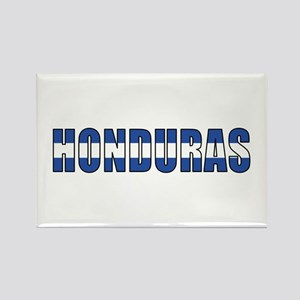 Honduras Rectangle Magnet
