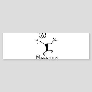 Marathon Bumper Sticker
