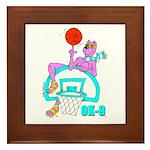 Ok-9 Inspiration (basketball) Framed Tile