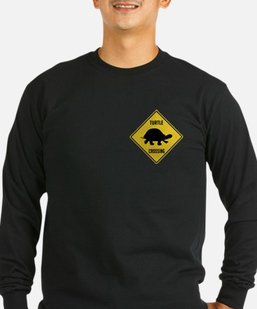 Turtle Crossing Sign T