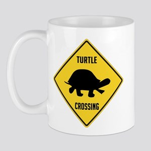 Turtle Crossing Sign Mug
