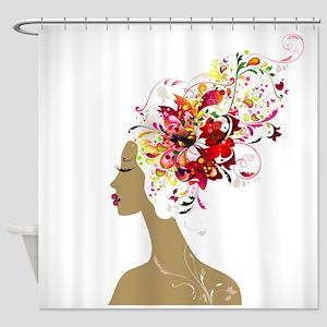 Good Hair Day Shower Curtain