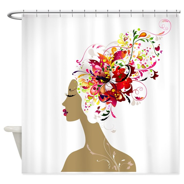 Kitchen Curtain Ideas South Africa: Good Hair Day Shower Curtain By Zoeticliving